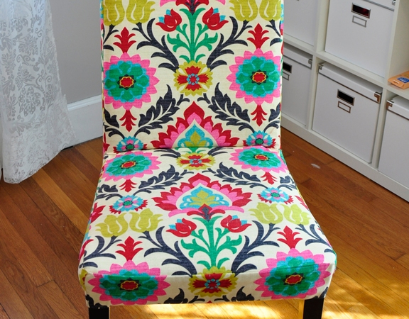 Tutorial: Ikea Dining Room Chair Covers | Scrambled Eggs