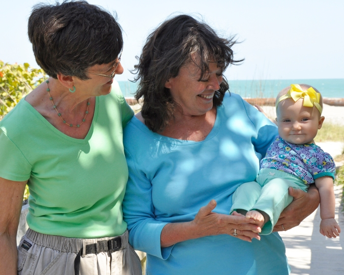 Sally, MA and Sabine March 2014