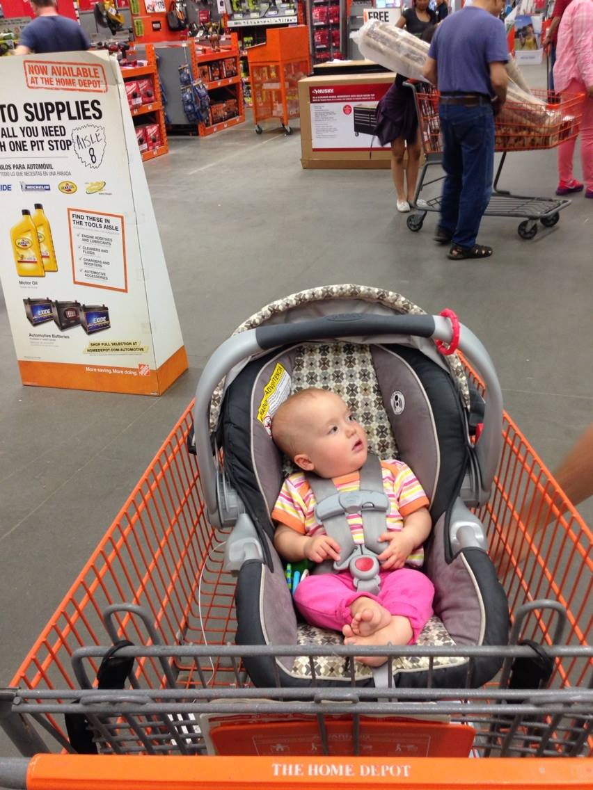 She was not impressed with Home Depot.